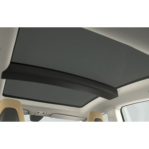 TESLA Model S Panoramic Roof Sunshades テスラ 純正 モデルS 専用 パノラミックルーフ サンシェード 前後2枚|ducatism