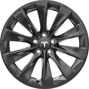 テスラ モデルS  純正19インチ スリップストリーム ホイール 4本set SlipStream Wheel 8Jx19 グレーメタリック|ducatism