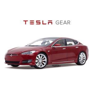 TESLA Diecast 1:18 Scale Model S P100D テスラ純正品 ダイキャスト 1/18 モデルS マルチコートレッド モデルカー ミニカー|ducatism