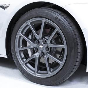 TESLA モデル3 エアロ ホイール キャップ キット テスラ 純正品 Model 3 Aero Wheel Cap Kit|ducatism