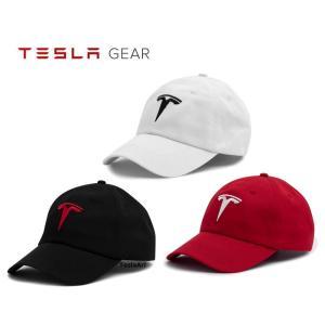 Tesla Logo Hat テスラ純正 Tロゴハット (Model S/Model X) 帽子 キャップ Cap|ducatism