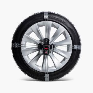 テスラ 純正 モデルS New スノーチェーン TESLA MODEL S 19インチ車 Model S Snow Chains|ducatism