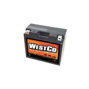 WestCo 12V12B-4 MKバッテリー GARUDA正規輸入品・1年間保証|ducatism