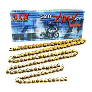 DID 520ZVM-X G&G ゴールドチェーン DUCATI|ducatism