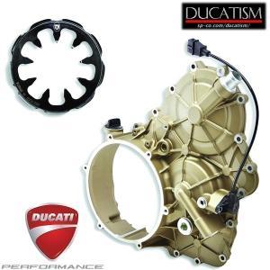 DUCATI  クラッチ ケース カバー STREETFIGHTER V4 ドゥカティパフォーマンス 正規純正品 ストリートファイターV4 96080051AA|ducatism
