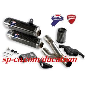 テルミニョーニ モンスター 1100 EVO スリップオン カーボンサイレンサー TERMIGNONI DUCATI Monster +ECU&エアクリーナーフルset|ducatism