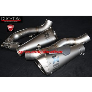 5月セール DUCATI パニガーレ V4 スリップオンサイレンサー +サイレントバッフル アクラポヴィッチ Panigale V4 V4R ドゥカティ 正規純正品 96481392B|ducatism
