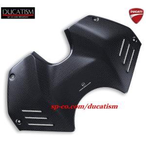 DUCATI パニガーレ V4 カーボンファイバー製タンクカバー ドゥカティ Panigale DUCATIパフォーマンス正規純正品|ducatism