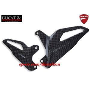 DUCATI パニガーレ V4 V4Rヒールプレート左右set 96981061A ドゥカティ Panigale DUCATIパフォーマンス正規純正品|ducatism