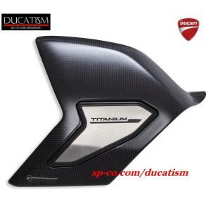 DUCATI パニガーレ V4 スイングアーム カーボン&チタン製プロテクター カバー ドゥカティ Panigale DUCATIパフォーマンス正規純正品|ducatism