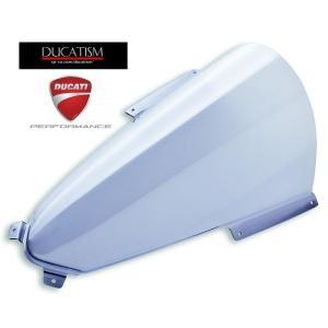 DUCATI パニガーレ V4R/2020年V4/V4S +40mm スモーク 大型ウィンドスクリーン ドゥカティ パフォーマンス 純正部品 Panigale V4R 97180831AB|ducatism