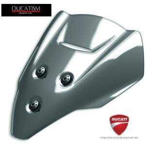DUCATI StreetFighter V4 スモークウィンドスクリーン ドゥカティ Panigale DUCATIパフォーマンス正規純正品 97180861AA|ducatism