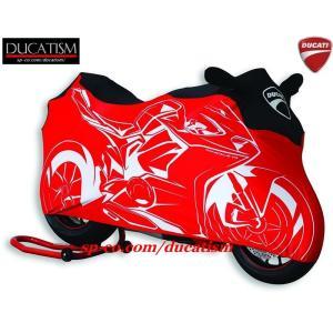 DUCATI パニガーレ V4 屋内専用バイクカバー ドゥカティ Panigale DUCATIパフォーマンス正規純正品|ducatism