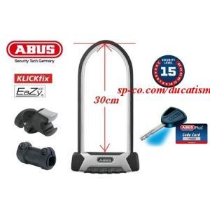 ABUS GRANIT X-Plus 540 / 30cm EaZyKFホルダー付属 ※新モデル アブス/アバス 最強U字ロック|ducatism