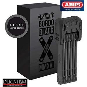 在庫あり アブス ボード 限定新モデル ブラック 6510 85cm ABUS Granit Bordo Black 6510 X-Plus 最強折りたたみフォールディングロック ドイツABUS社 正規商品|ducatism