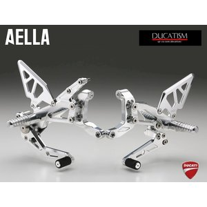 AELLA DUCATI Panigale V4 ライディングステップキット パニガーレV4 ドゥカティ AE-10089|ducatism