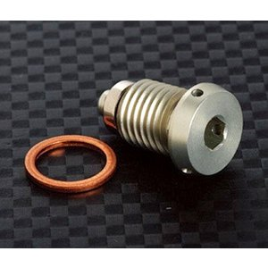 AELLA AE-52003 テスタエンジン用 削り出しドレンプラグ(マグネット付)|ducatism