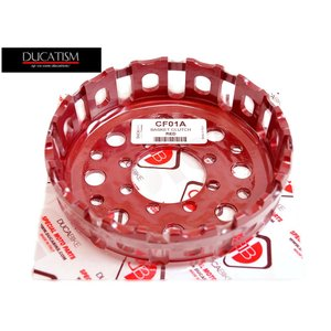 DUCABIKE DUCATI 乾式クラッチモデル用 軽量アルミアウターバスケット アルミ製 CF01A|ducatism