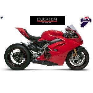 8/3 イタリア在庫有 テルミニョーニ DUCATI パニガーレ V4 V4S スリップオン D184 ブラック サイレンサー BLACKEDITION TERMIGNONI UpMap付 D18409400INA ducatism