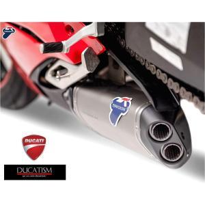 5/8 イタリア在庫有 テルミニョーニ DUCATI パニガーレV4 V4R スリップオン D184 Panigale V4 チタン サイレンサー TERMIGNONI 純正品 UpMap付 D18409400ITA|ducatism