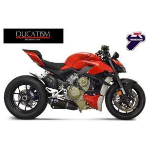 5/8 イタリア在庫有 テルミニョーニ DUCATI ストリートファイター V4 V4S スリップオン D199 ブラック サイレンサー TERMIGNONI UpMap付 D19909440INA|ducatism