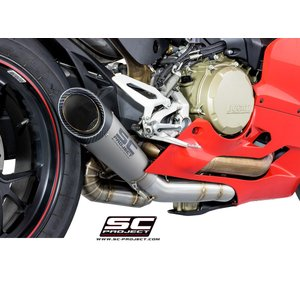 "SCプロジェクト SC-PROJECT D22-T41T DUCATI 1299 Panigale/S/R コレクターパイプ & S1 カーボンサイレンサー (Carbon Silencer)""RACING""