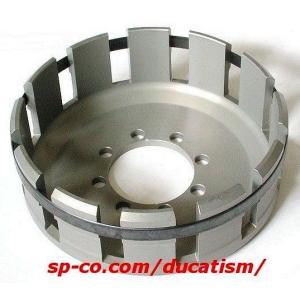 DUCATI 乾式クラッチモデル用 アルミアウターバスケット アルミ製 軽量|ducatism