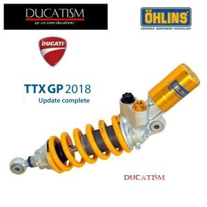 OHLINS DU469 DUCATI 899/959 Panigale 16-18 2018 TTX-GP オーリンズ リアサスペンション  パニガーレ DU3612|ducatism