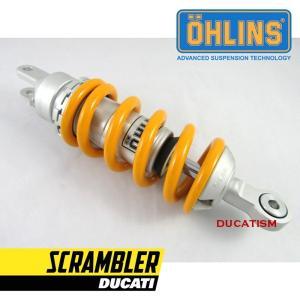 8/1 イタリア在庫有 セール DU505 OHLINS オーリンズ リアサスペンション DUCATI SCRAMBLER 2015-2020 ドゥカティ スクランブラー S46DR1|ducatism