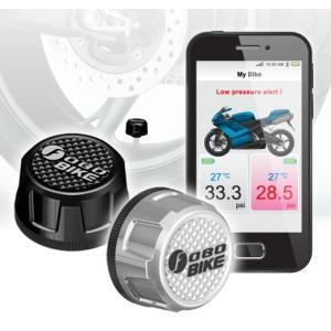 (1年保証付き・送料無料) FOBO Bike (Bluetooth4.0 TPMS) 国内正規品 (シルバー)Silver ducatism