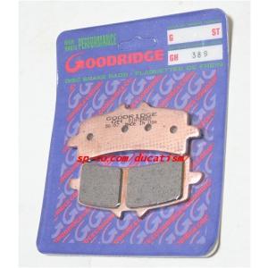 GOODRIDGE GH389 グッドリッジブレーキパッド brembo 【ブレンボキャリパー用】|ducatism