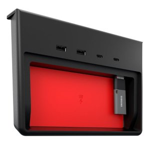 sale Jeda USB Hub テスラ モデル3 用 USBハブ5ポート SSDケース付き USB-C TESLA Model 3|ducatism