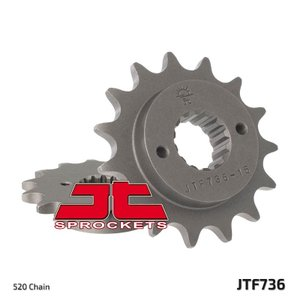 JTスプロケット JTF736 フロントスプロケット 520 DUCATI 900SS/748/748R&916/996/998系の520化用に.. JT Sprockets|ducatism