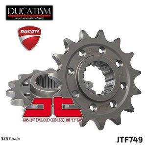 JTスプロケット JTF749 フロントスプロケット 525 DUCATI Panigale V4/1299/1199  JT Sprockets|ducatism
