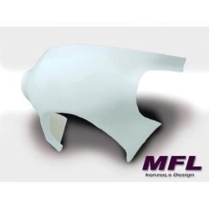 MFL DUCATI F1/F3用 ハリスType レース用アッパーカウル 白ゲル ducatism