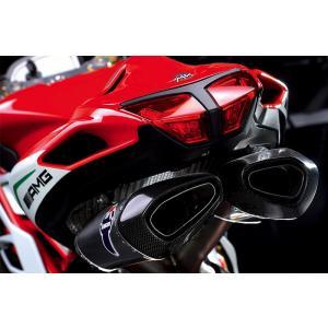 TERMIGNONI(テルミニョーニ) MV AGUSTA F4(2010-2016)フルチタン 4x2x1x2 フルエキゾースト(レーシング+バッフル付)|ducatism