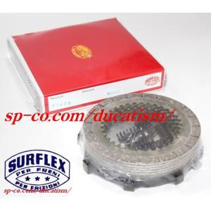 SURFLEX S1425 湿式クラッチディスク DUCATI Bevel 750SS/900SS ベベル強化型(スプリング付)|ducatism