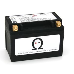 Ohmmu テスラ ロードスター 用 12Vリチウムバッテリー 12V Lithium Battery for TESLA RoadSter T1210R|ducatism