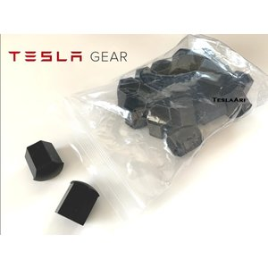 Tesla Model S 用 テスラ ホイール ラグナット キャップ ロングタイプ 初期型2014-2016 モデルS用ブラック 1台分20個set テスラ純正品|ducatism