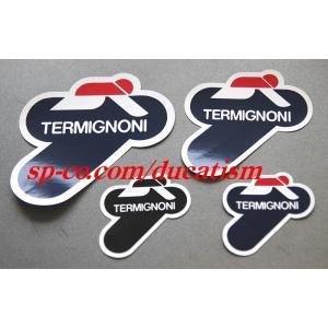 あすつく テルミニョーニ 純正耐熱ステッカー イタリア TERMIGNONI 正規品 1枚 耐熱デカール 耐熱シール DUCATI|ducatism