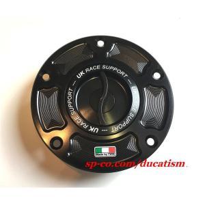 黒即納 希少 TWM レーシングタンクキャップ クイックタイプ DUCATI Panigale V4 1299/1199/959/899 Monster1100/796/696/M1100Evo/DIAVEL/X-DIAVEL/SCRAMBLER|ducatism