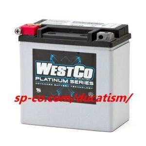 WestCo WCP14 AGM(正規輸入品・1年間保証)ハーレー純正バッテリー V-ROD 65948-00|ducatism