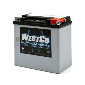 WestCo WCP14L AGM(正規輸入品・1年間保証)ハーレー純正バッテリー 65958-04A 2004年以降スポーツスター|ducatism
