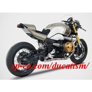 ZARD-ZBMW530TKR BMW R NINE-T 1200 TITANIUM FULL KIT 【国内正規輸入品】 RED-SPEC (+消音バッフル付属)|ducatism