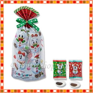 ミッキー&フレンズ(スノー) マシュマロ スノースノー ディズニークリスマス 2019 雪だるま お菓子 ディズニー グッズ お土産(東京ディズニーリゾート限定)|duffy-0080