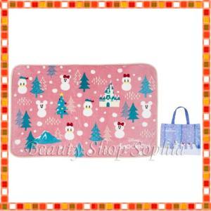 ミッキー&フレンズ(スノー) ブランケット スノースノー ディズニークリスマス 2019 雪だるま ディズニー グッズ お土産(東京ディズニーリゾート限定)|duffy-0080