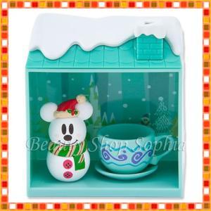 ミッキーマウス(スノー) フィギュア スノースノー ディズニークリスマス 2019 雪だるま ディズニー グッズ お土産(東京ディズニーリゾート限定)|duffy-0080