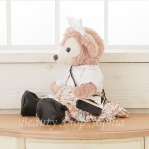 シェリーメイ フラワープリントワンピース コスチュームセット オリジナル ハンドメイド 手作り Sサイズ43cm 洋服 着せ替え|duffy-0080|03