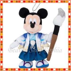 ミッキーマウス ぬいぐるみバッジ 2020年 ニューイヤーグッズ お正月 子年 鼠 ディズニー グッズ お土産 (東京ディズニーリゾート限定) duffy-0080