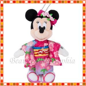 ミニーマウス ぬいぐるみバッジ 2020年 ニューイヤーグッズ お正月 子年 鼠 ディズニー グッズ お土産 (東京ディズニーリゾート限定) duffy-0080